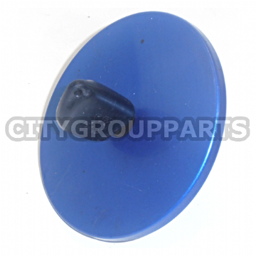 PEUGEOT 106 MODELS 96 TO 03 PETROL / DIESEL FUEL FILLER CAP + KEY METALLIC BLUE